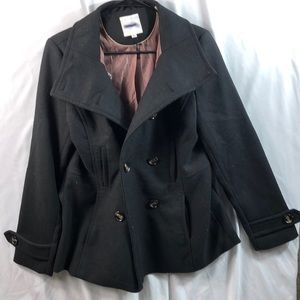 THREAD AND SUPPLY Double Breasted Peacoat Size M